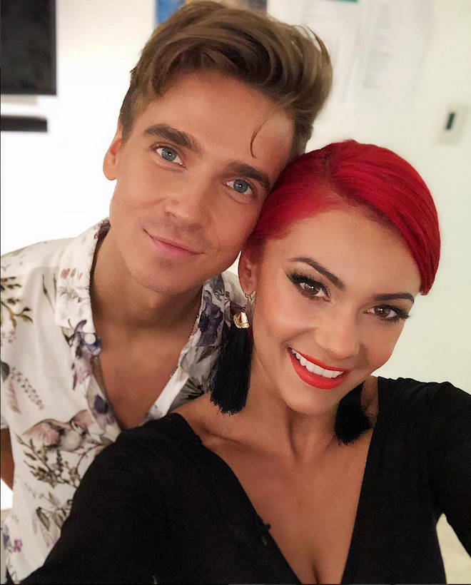 Joe Sugg has opened up about romance rumours with Strictly partner Dianne Buswell