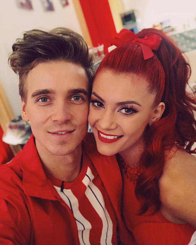 Joe Sugg's Strictly Come Dancing partner Dianne Buswell split from boyfriend Anthony Quinlan just last week