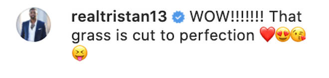 Tristan Thompson comments on Khloé's snap with huge diamond ring
