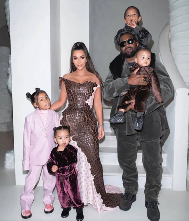Kim Kardashian and Kanye West have four kids together