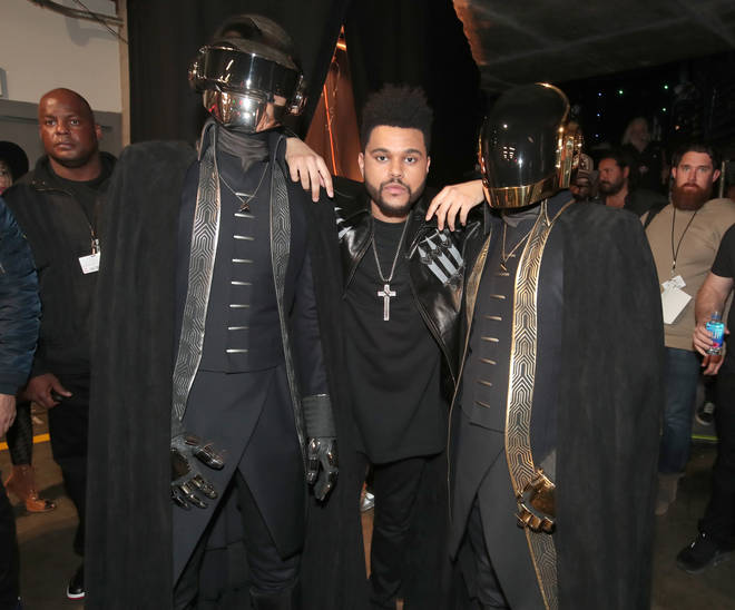 Daft Punk have worked with a plethora of artists including The Weeknd