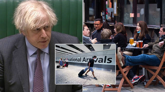 Boris Johnson has outlined how England will come out of lockdown