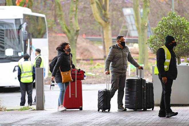 Restrictions on international travel may be lifted in April