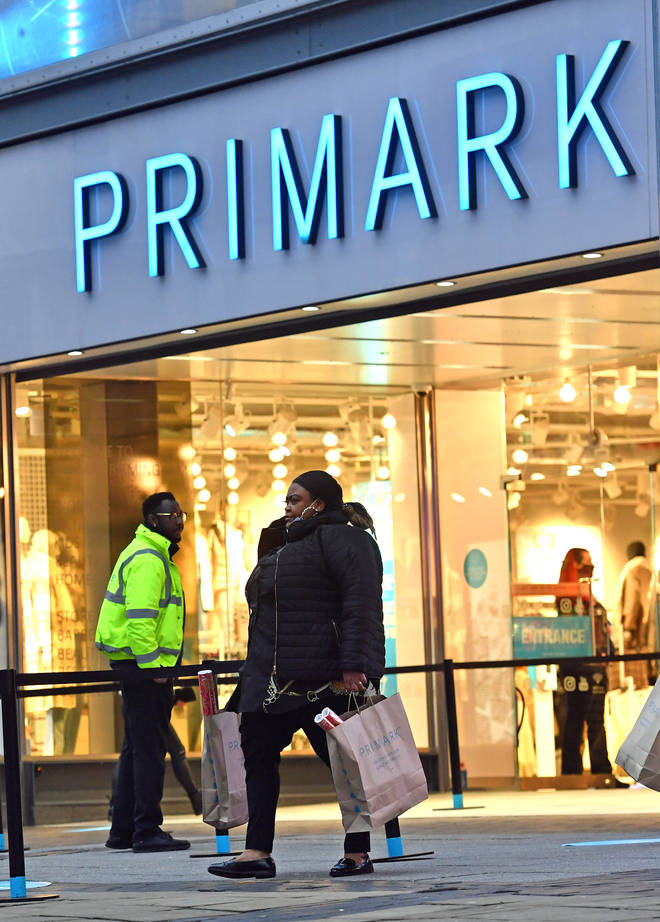 Primark is set to reopen on April 12.