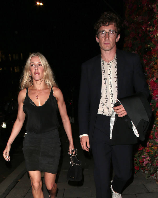 Ellie Goulding and husband Caspar Jopling