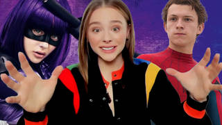 Chloë Grace Moretz jokes she could beat Tom Holland's Spider-Man in a fight