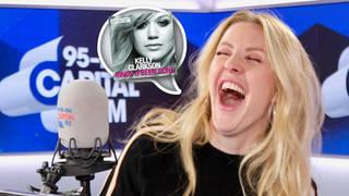 Ellie Goulding performed Kelly Clarkson's anthem, 'Since U Been Gone'
