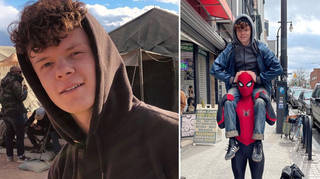 Tom Holland's brother Harry makes a cameo in Spider-Man 3