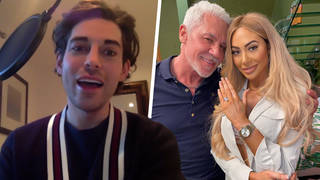Tom Read Wilson responded to Chloe Ferry's engagement to Wayne Lineker