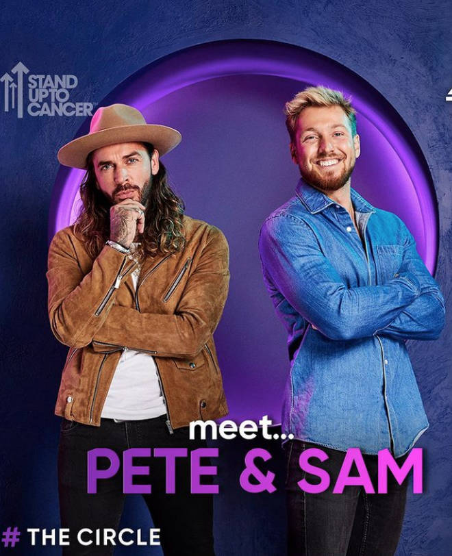 The Celebrity Circle: Pete Wicks and Sam Thompson are playing as Rachel Riley