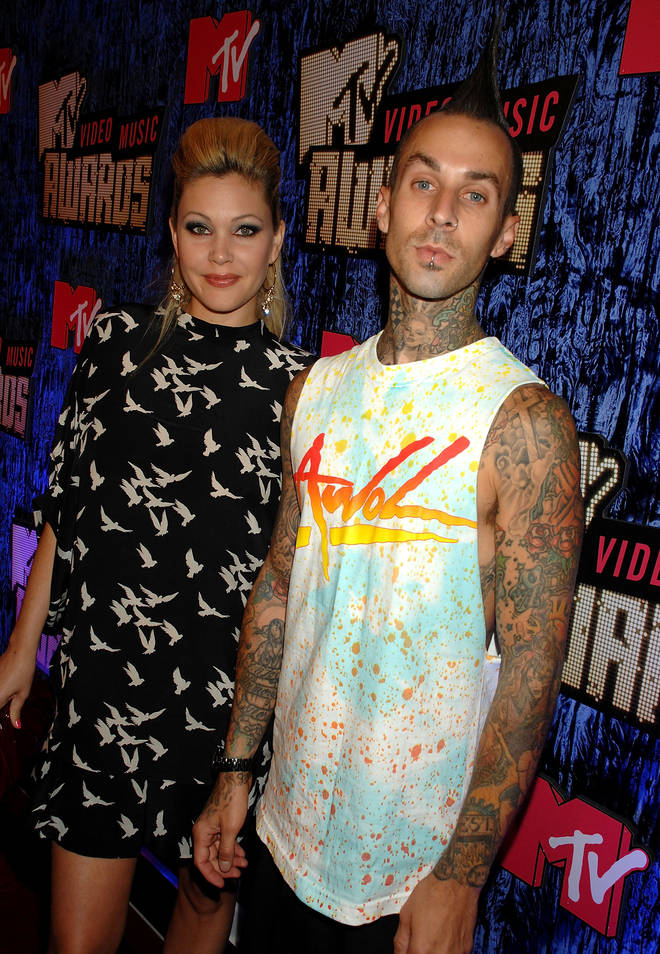 Travis Barker and ex-wife Shanna Moakler