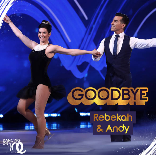 DOI: Rebekah Vardy and Andy Buchanan were voted out before the semi-finals
