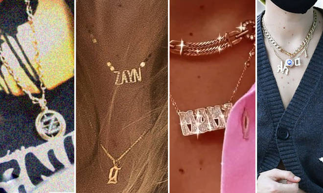 Gigi Hadid's necklace collection is a love story in itself