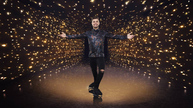 Sonny Jay is aiming or the Dancing on Ice finals