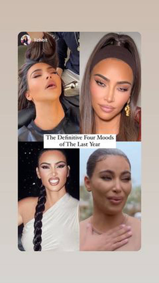 Kim Kardashian posts meme hinting at a lousy 2020