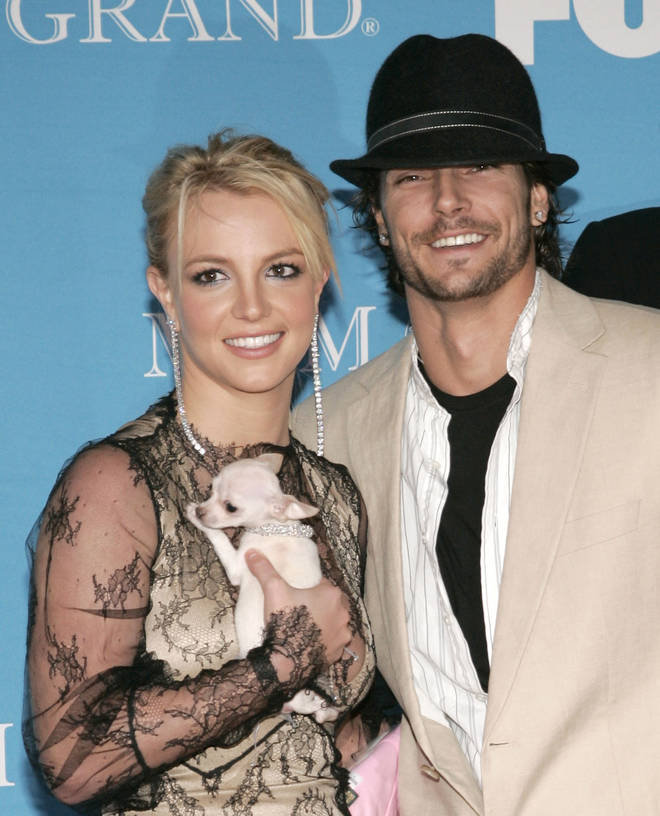 Britney Spears and Kevin Federline were married for three years