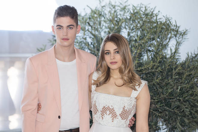 Hero Fiennes Tiffin and Josephine Langford are good friends.