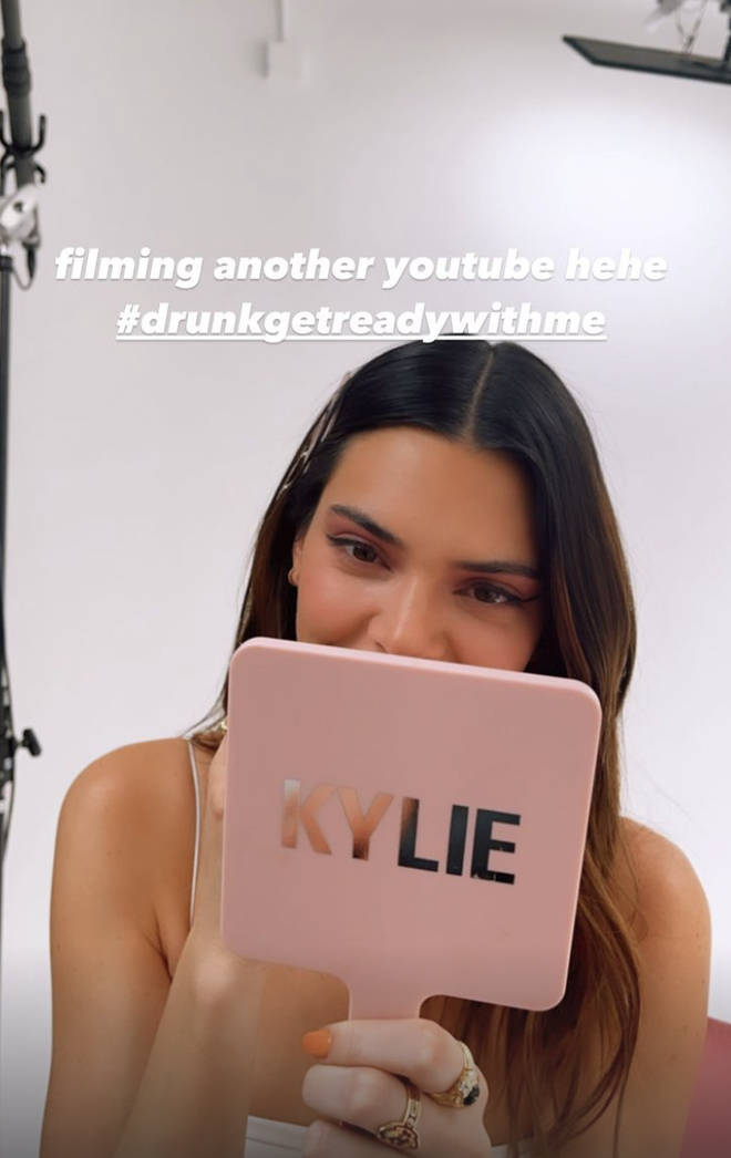 Kylie and Kendall's 'drunk get ready with me' got out of hand