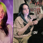 Billie Eilish asked fans to take it easy on her ex-boyfriend Brandon Quentin Adams.