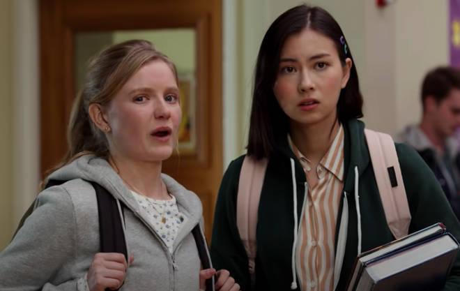 Claudia is Vivian's bestie in the Netflix series.