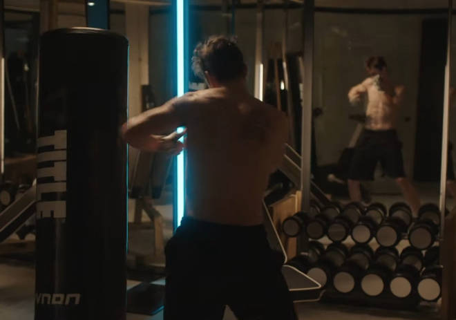 The gym scene is one of the most popular moments in the book.