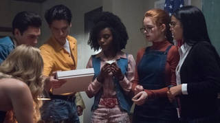 Riverdale cast play their parents in spooky flashback episode