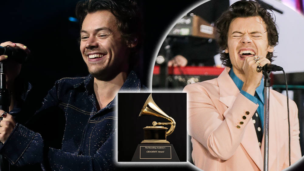 Harry Styles Likely To Perform At The 2021 Grammys - Capital