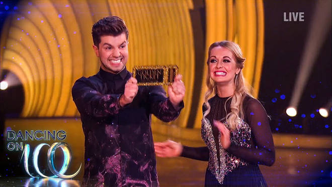 Sonny Jay got a golden ticket after his first skate on Dancing on Ice