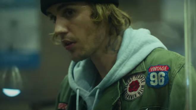 Fans noticed the TPWK badge on Justin Bieber's jacket.
