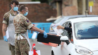 The mystery sixth person who tested positive for the Brazil variant in UK has been found (file photo)