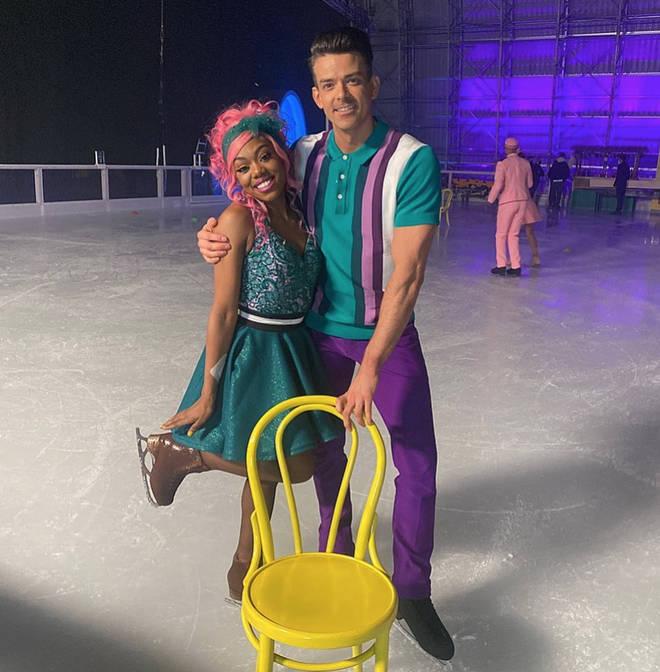 Lady Leshurr has left Dancing on Ice