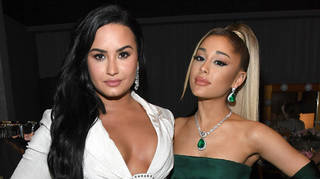 Ariana Grande and Demi Lovato have recorded a song together