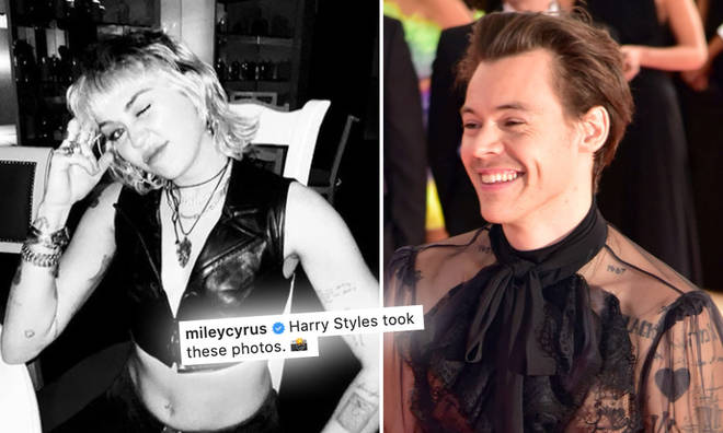 Miley Cyrus is being the ultimate Harry Styles stan