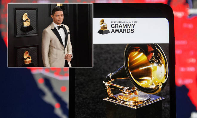 This will be Trevor Noah's first time hosting The Grammys.