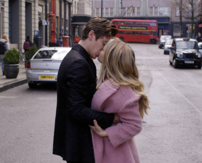 Fans were freaking out over Hardin and Tessa's scene in London.