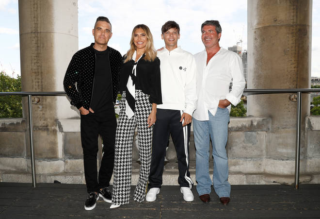 Louis Tomlinson was a judge on The X Factor in 2018