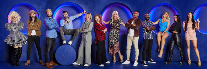 The Celebrity Circle line-up 2021