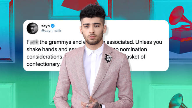 "Zayn Malik called out The GRAMMYs for ""allowing favouritism and racism"""