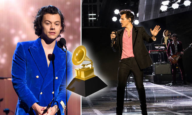 Harry Styles was nominated for three Grammys