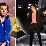 Harry Styles is nominated for three Grammys