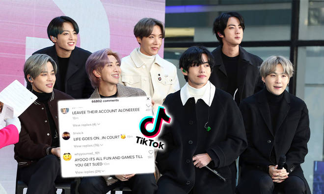 BTS' Army was not happy about the boys' account being hacked into.