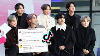 BTS' Army was not happy about their account being hacked into.