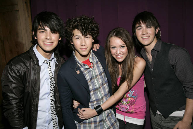 Miley Cyrus and Nick Jonas dated when they were in their early teens.