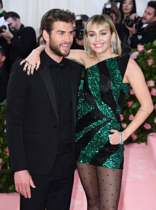 Miley Cyrus' longest relationship was with Liam Hemsworth.