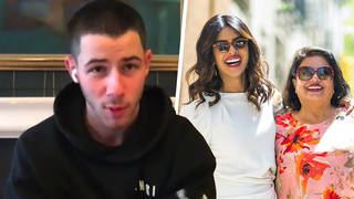 "Nick Jonas said meeting Priyanka's mother was ""bizarre"""