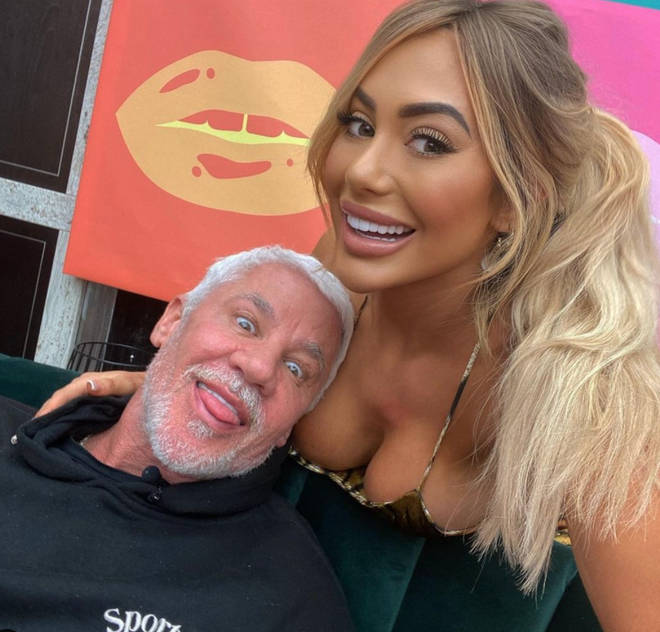 Chloe Ferry and Wayne Lineker grew close on Celebs Go Dating