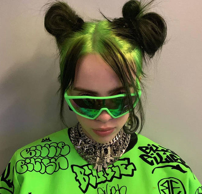 Billie Eilish is nominated for four Grammys this year.