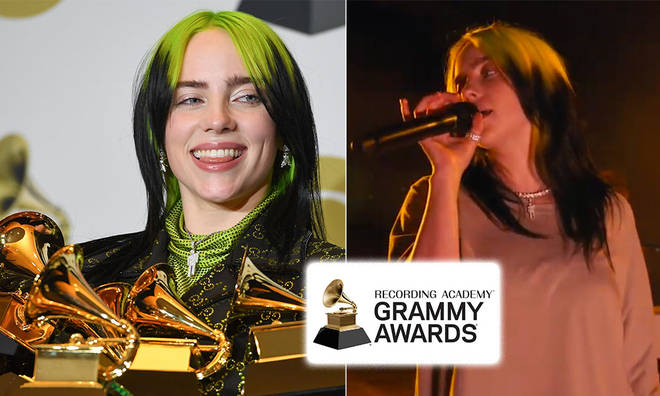 Billie Eilish is up for four Grammy awards this year.