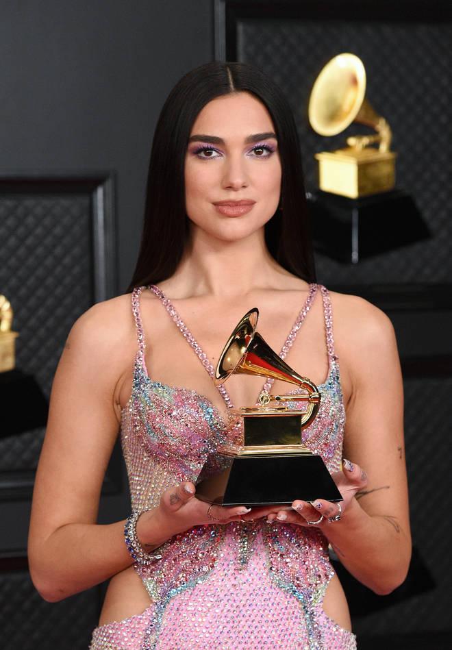 Dua Lipa won Pop Vocal Album at the 2021 Grammys
