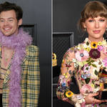 Harry Styles and Taylor Swift had a friendly catch-up at The Grammys.